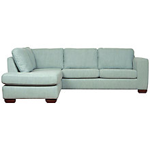 Buy John Lewis Felix LHF Chaise Corner Sofa with Dark Legs Online at johnlewis.com