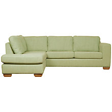 Buy John Lewis Felix LHF Chaise Corner Sofa with Light Legs Online at johnlewis.com