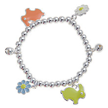 Buy John Lewis Girl Bunny Charm Bracelet Online at johnlewis.com