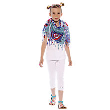Buy Desigual Otalfoul Beach Scarf, Multi Online at johnlewis.com