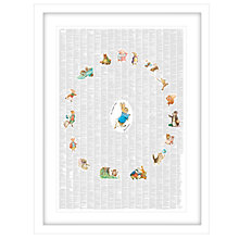 Buy Spineless Classics - Beatrix Potter Complete Framed Print,  83 x 63cm Online at johnlewis.com
