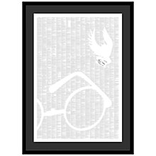 Buy Spineless Classics - Harry Potter and the Philosopher's Stone Framed Print, 114 x 83cm Online at johnlewis.com