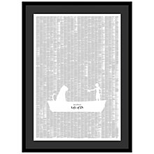 Buy Spineless Classics - Life Of Pi Framed Print, 114 x 83cm Online at johnlewis.com