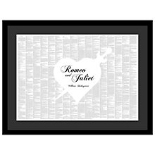 Buy Spineless Classics - Romeo and Juliet Framed Print, 64 x 84cm Online at johnlewis.com