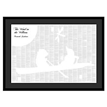 Buy Spineless Classics - The Wind In The Willows Framed Print, 114 x 83cm Online at johnlewis.com