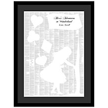 Buy Spineless Classics - Alice In Wonderland Framed Print, 84 x 63cm Online at johnlewis.com