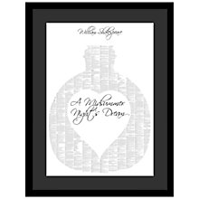 Buy Spineless Classics - Midsummer Nights Dream Framed Print, 83 x 63cm Online at johnlewis.com
