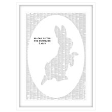 Buy Spineless Classics - The Complete Tales of Beatrix Potter Silhouette Framed Print, 114 x 83cm Online at johnlewis.com