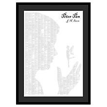 Buy Spineless Classics - Peter Pan Framed Print, 114 x 83cm Online at johnlewis.com
