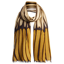 Buy Jigsaw Blurred Stripe Scarf Online at johnlewis.com