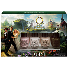 Buy OPI Nails Collection Mini Nails Set, 4 x 15ml Online at johnlewis.com