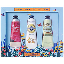 Buy L'Occitane Spring Hand Cream Collection, 3 x 30ml Online at johnlewis.com