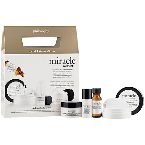 Buy Philosophy Miracle Worker Trial Set Online at johnlewis.com