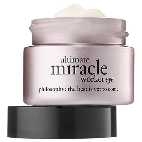 Buy Philosophy Miracle Worker Anti-Ageing Retinoid Eye Repair, 15ml Online at johnlewis.com