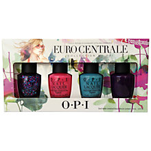 Buy OPI Nails Euro Centrale Exclusive Nail Polish Collection, 4 x 15ml Online at johnlewis.com
