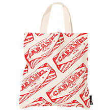 Buy Gillian Kyle Tunnock's Caramel Wafer Wrapper Canvas Bag Online at johnlewis.com