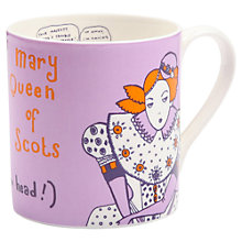 Buy Gillian Kyle Mary Queen Of Scots Mug Online at johnlewis.com