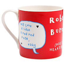 Buy Gillian Kyle Robert Burns Mug Online at johnlewis.com