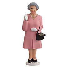 Buy Solar Powered Waving Queen, Pink/ Blue, Assorted Online at johnlewis.com