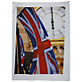 Barbara Chandler Love London Big Ben Flag Tea Towel