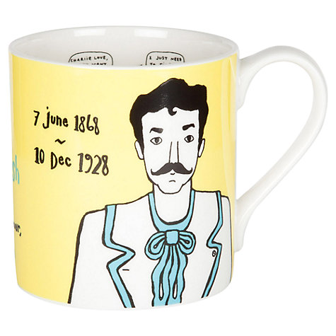 Buy Gillian Kyle Charles Rennie Mackintosh Mug Online at johnlewis.com