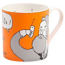 Buy Gillian Kyle Alexander Graham Bell Mug Online at johnlewis.com