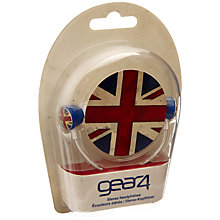 Buy Union Jack Gear4 Headphones Online at johnlewis.com