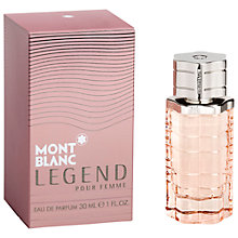 Buy Mont Blanc Legend Femme Eau de Parfum Online at johnlewis.com