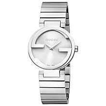 Buy Gucci Women's Interlocking G Steel Bracelet Strap Watch Online at johnlewis.com