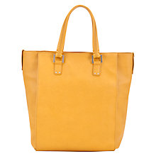 Buy COLLECTION by John Lewis New Grainy Shopper Handbag, Yellow Online at johnlewis.com