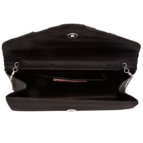 Buy John Lewis Martina Satin Envelope Clutch Handbag Online at johnlewis.com