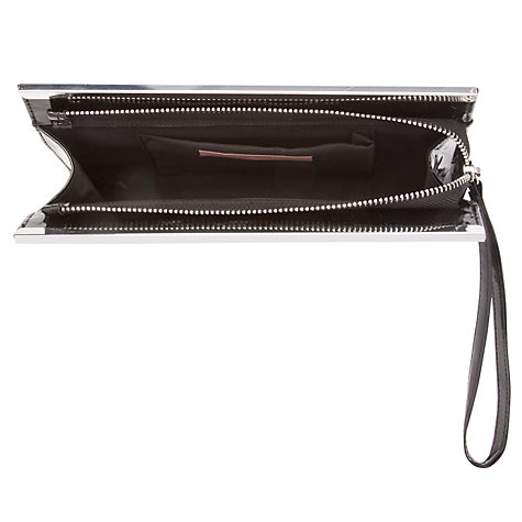 Buy John Lewis Sophie Clutch Bag, Black Online at johnlewis.com