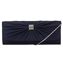 Buy John Lewis Jenny Satin Twist Clutch Bag Online at johnlewis.com