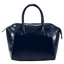 Buy COLLECTION by John Lewis Small Patent Wings Grab Handbag Online at johnlewis.com
