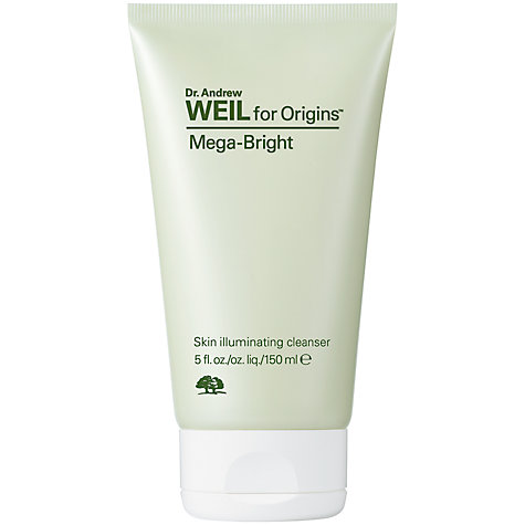 Buy Dr. Andrew Weil for Origins™ Mega-Bright Skin Illuminating Cleanser, 150ml Online at johnlewis.com