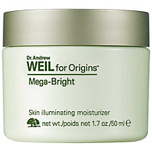 Buy Dr. Andrew Weil Mega-Bright Skin Illuminating Moisturizer, 50ml Online at johnlewis.com