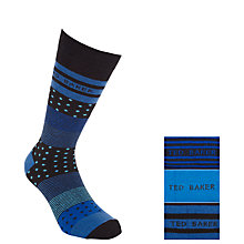 Buy Ted Baker Stripe And Spot Socks Gift Set, Pack of 3 Online at johnlewis.com