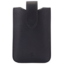Buy Mulberry Leather Cover with Tab for iPhone 4 Online at johnlewis.com