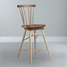 Buy Sitting Firm for John Lewis Rushmore Barstool Online at johnlewis.com