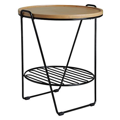buy oliver hrubiak for john lewis finn small side table. Black Bedroom Furniture Sets. Home Design Ideas