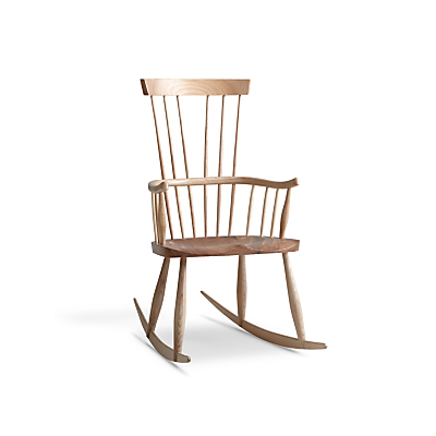 Sitting Firm for John Lewis Croft Collection Melbury Rocking Chair