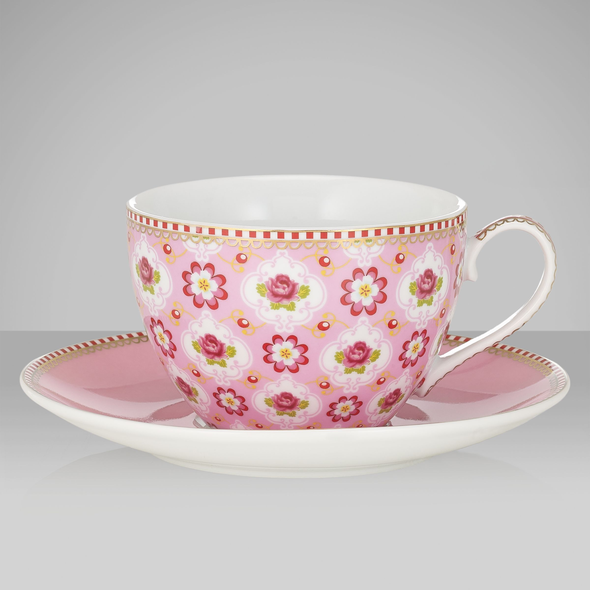 Blossom Cup & Saucer, 0.3L, Pink 435617