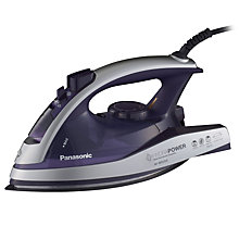 Buy Panasonic NI-W920AVXC Steam Iron, Purple Online at johnlewis.com