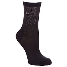 Buy Calvin Klein Shimmer Graduated Dot Ankle Socks Online at johnlewis.com