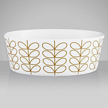 Buy Orla Kiely Linear Stem Pasta Bowl, Dia.17cm Online at johnlewis.com