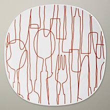 Buy Orla Kiely Knives and Forks Side Plate Online at johnlewis.com