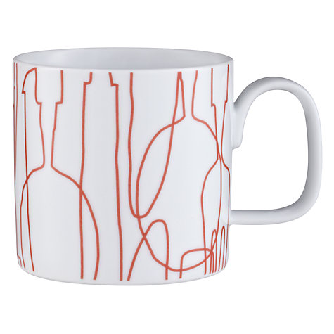 Buy Orla Kiely Knives and Forks Mug Online at johnlewis.com