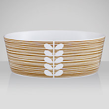 Buy Orla Kiely Scribble Stripe Pasta Bowl, Dia.17cm Online at johnlewis.com