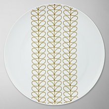 Buy Orla Kiely Linear Stem Dinner Plate, Dia. 27cm, Multi Online at johnlewis.com