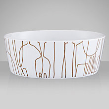Buy Orla Kiely Knives and Forks Pasta Bowl, Dia.17cm Online at johnlewis.com